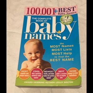 Baby Names Book Best Baby Names